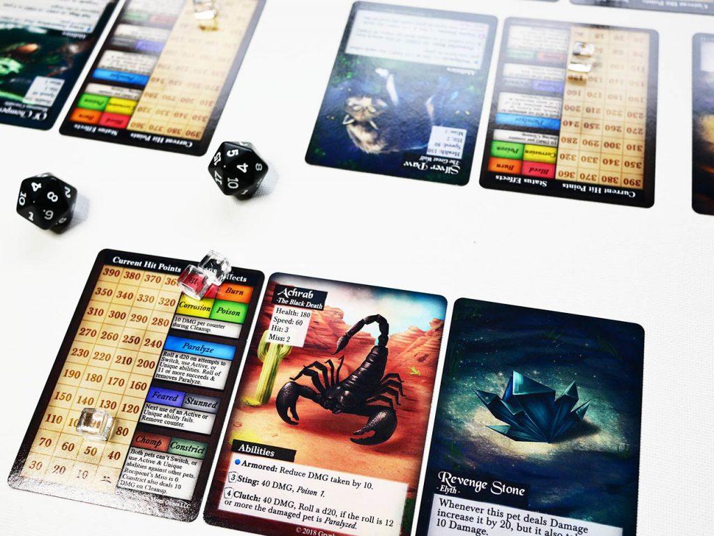 Familiar Mythic Arena cards, battling