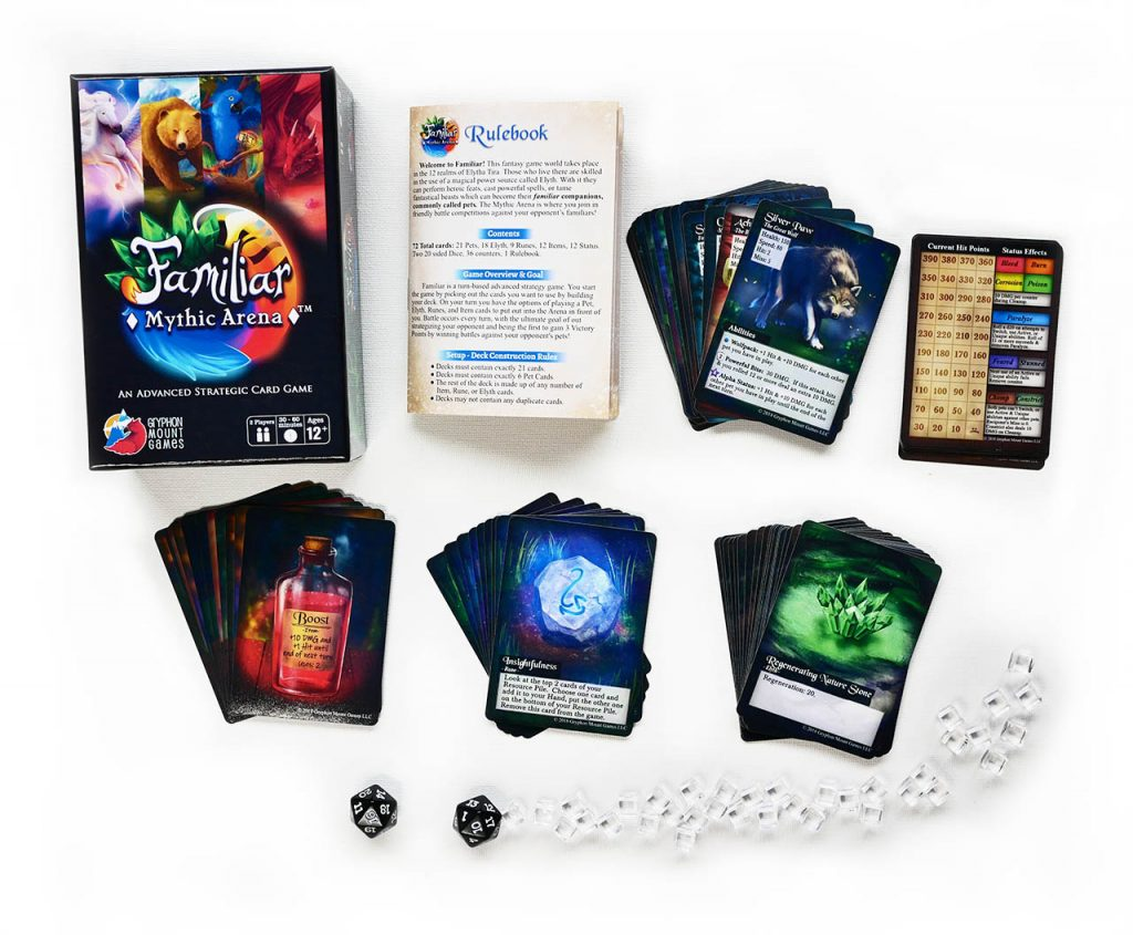 Familiar: Mythic Arena, game contents