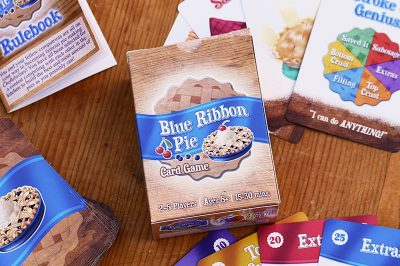 Blue Ribbon Pie card game photo