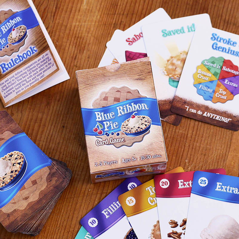 Blue Ribbon Pie card game