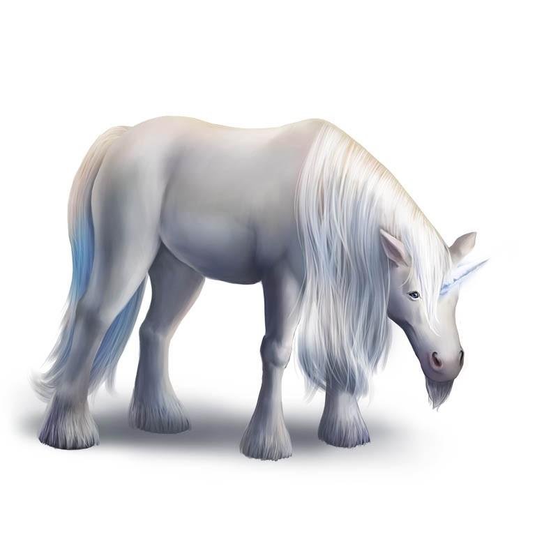 Sir Edmund, unicorn from Familiar Mythic Arena