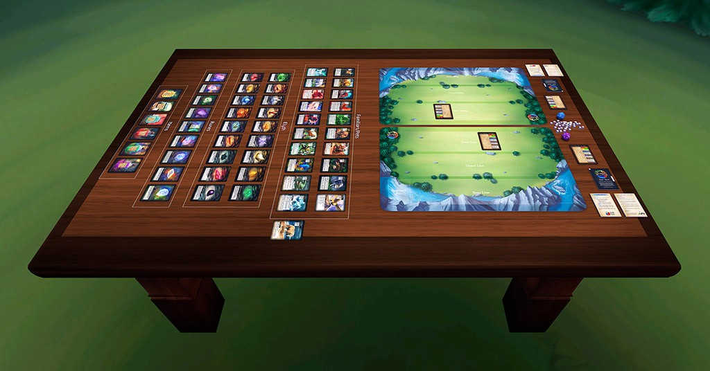 Familiar Mythic Arena on Tabletop Simulator